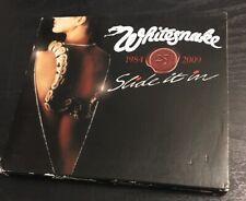 WHITESNAKE - Slide It In EX COND 25th Ann CD & DVD David Coverdale/John Sykes