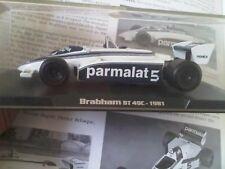 Brabham BT 49C BT49C Coche de Carreras Modelo 1/43 1:43 Nelson Piquet 1981 campeón
