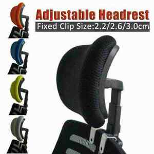 Office Swivel Chair Headrest Soft Sponge New With Clip Lifting Can D2T5