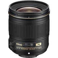 Nikon AF-S NIKKOR 28mm f/1.8G Lens for Digital SLR Cameras