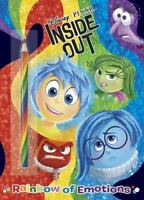 Rainbow Of Emotions (disney/pixar Inside Out) (color Plus Rainbow Pencil): By...