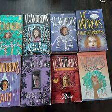 Vc andrews books lot