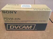 Box of 10 New Sony DVCAM PDVM-40N Digital Video Cassette Tapes