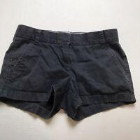 J Crew Broken In Chino Shorts Dark Gray Size 2 A1358