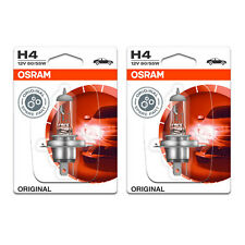 2x Audi V8 Genuine Osram Original High/Low Dip Beam Headlight Bulbs Pair