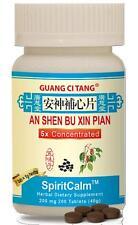 Guang Ci Tang, An Shen Bu Xin Pian,  SpiritCalm, 200 mg, 200 ct