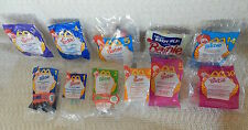 McDonald's Happy Meal Toy-Mattel Barbies - 11 Total ***NEW IN BAGS***
