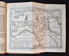 1786 Original Geographical Map ITALIA ANTIQUA Parts - CISALPINA GALLIA.CELLARIUS
