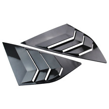 Auto Rear Panel Window Side Louvers Vent trim Fit for Ford Focus ST RS Hatchback