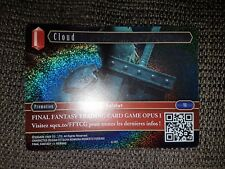 Final fantasy card TCG Cloud French NEW