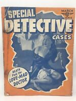 SPECIAL DETECTIVE CASES MARCH 1942 Volume 1 Number 1