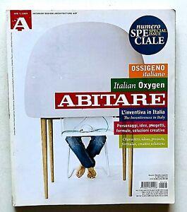 Abitare n. 498 2009 Rivista Architettura Design Ossigeno italiano 2 L'inventiva