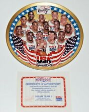 SPORTS IMPRESSIONS DREAM TEAM II USA Basketball Collector's Plate w/ COA 8 1/2""