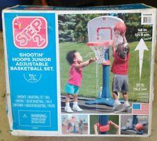 "Step2 48"" Basketball Set Shooting Hoops Kids Portable Basket Ball Hoop Playset"