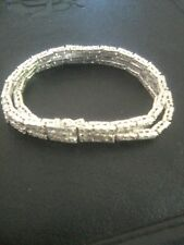 New 2.00 Carat Rose cut Diamond 3 Row Bracelet !   194 diamonds in all !!!