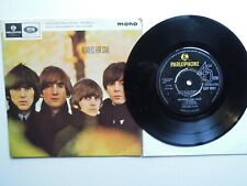 THE BEATLES FOR SALE ORIGINAL EP FIRST PRESS  EX
