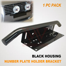 NUMBER PLATE HOLDER MOUNTING BRACKET BULLBAR FRAME HID LED DRIVING LIGHT BAR