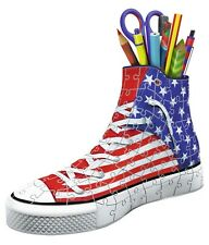 RAVENSBURGER 12549 PUZZLE 3D SNEAKER AMERICAN STYLE Trainer Trendy Pen