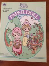 Vintage 1992 Precious Moments Paper Dolls-New-Pristine-SHIPS FREE