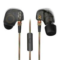 KZ ATE 3.5mm Earphones HIFI Stereo In-Ear Sport Earbuds Headsets Headphone w/Mic