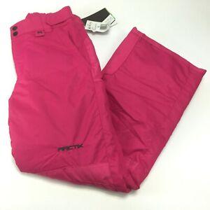 Arctix Youth Girls Reinforced Snow Pants Fuchsia 1150-45-L Size L (Please Read)
