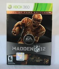 Xbox 360 Madden 12 2012 Marshall Faulk Hall of Fame Edition NFL Brand New Sealed