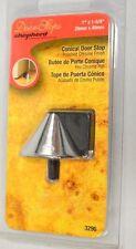 "Shepherd Designer Conical Door Stop 1"" x 1 5/8"" #3296 - Polished Chrome Finish"