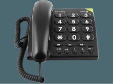 Doro PhoneEasy 311C Großtastentelefon Seniorentelefon Telefon - schwarz