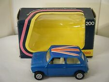"CORGI NO: 200 ""MINI 1000"" - BLU (ORIGINALE 1975/Boxed)"