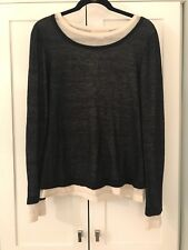 Michael Kors Collection Slouchy Double Layer Top