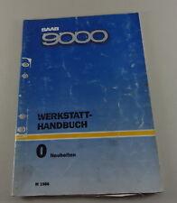 Workshop Manual Saab 9000 Neuheiten Model Year 1986