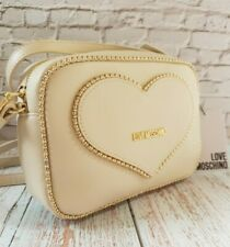LOVE MOSCHINO BAG CROSSBODY BNWT WITH DUST BAG WOMENS GORGEOUS 100% GENUINE