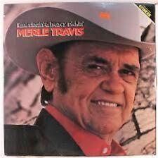 "MERLE TRAVIS ""Light Singin' & Heavy Pickin'"" NEW FACTORY SEALED 1980 LP"