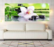 """Glasbild, Bild aus Glas, 125 x 50 cm Motiv """"0124_Lotusblüte"""""""