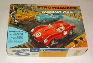 1960s STROMBECKER 1/32 SCALE SLOT CAR BOX