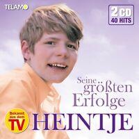 HEINTJE - SEINE GRÖßTEN ERFOLGE 2 CD NEU