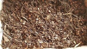 120l Rindenmulch Natürliche Bodenabdeckung Top Gärtnerqualität Garten Pflanzlich