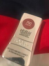 L'OREAL INFALLIBLE LIPCOLOR LIPSTICK 700 AUBURN Rosy Brown Balm Mirror Birthday