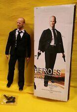"JASON STATHAM TRANSPORTER F MARTIN NEW HEROES HOT ACTION FIGURE TOYS 12""doll 1.6"