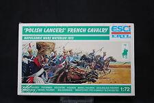 YB151 ESCI 1/72 maquette figurine P-218 Lanciers Polonais Cavalerie Française NB