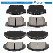 4 Front And 4 Rear Ceramic Brake Pads Kit For 2004 2005 2006 2007 2008 Acura TSX