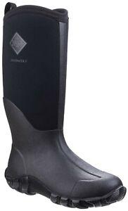 Muck Boots Edgewater II black neoprene rubber multi-purpose wellington boot