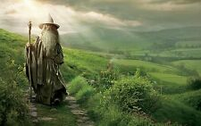 Poster A3 The Lord Of The Rings The Lord Of The Rings Gandalf Film Film 01