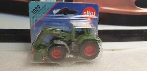 SIKU MODELS - FENDT FRONT LOADER  - DIECAST MODEL TRACTOR - 1039