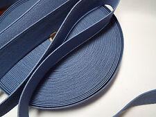 1M, larghezza 40mm, Blu-FLAT elastici, molto forte per SCARPE, ZAINI, borse, ecc.