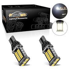 2Pcs High Power 912 921 T15 906 W16W 30-4014-SMD Led Backup Reverse Light