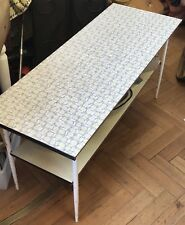 1950s Yellow/Black/White Arvin Coffee Table, probably designed by Robert Loewey