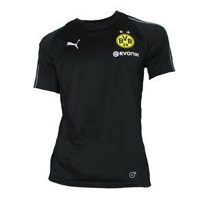 BVB Borussia Dortmund Training Trikot 2018/19 Puma Shirt Maglia Maillot M L