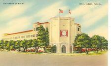 FLORIDA,CORAL GABLES CORAL UNIVERSITY OF MIAMI #12365 LINEN(FL-C2)