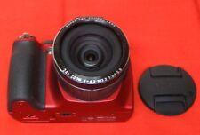 Fujifilm FinePix SL240 14.0MP,Optical Zoom: 24x,View Finder Digital Camera - RED